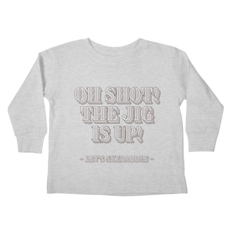 Let's skedaddle! Kids Toddler Longsleeve T-Shirt by agostinho's Artist Shop