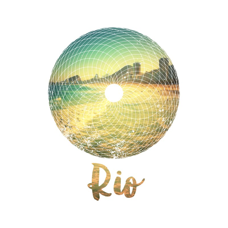 Rio None  by agostinho's Artist Shop