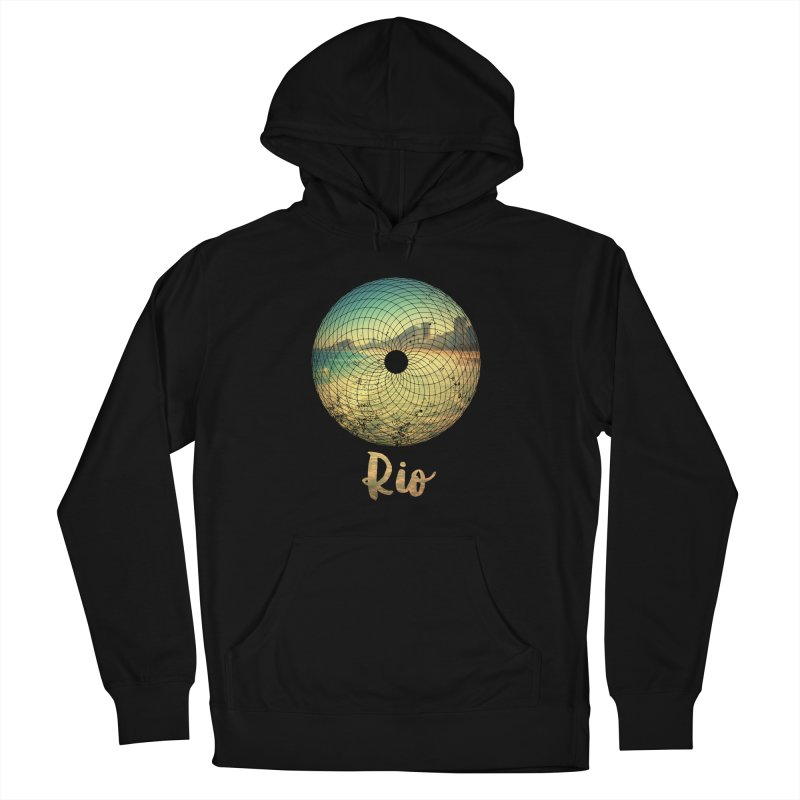 Rio Women's Pullover Hoody by agostinho's Artist Shop