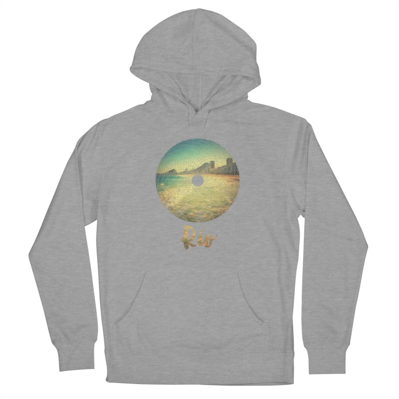 Rio Men's French Terry Pullover Hoody by agostinho's Artist Shop