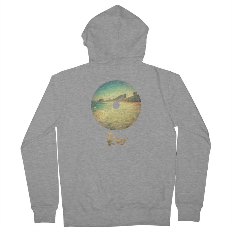 Rio Women's French Terry Zip-Up Hoody by agostinho's Artist Shop