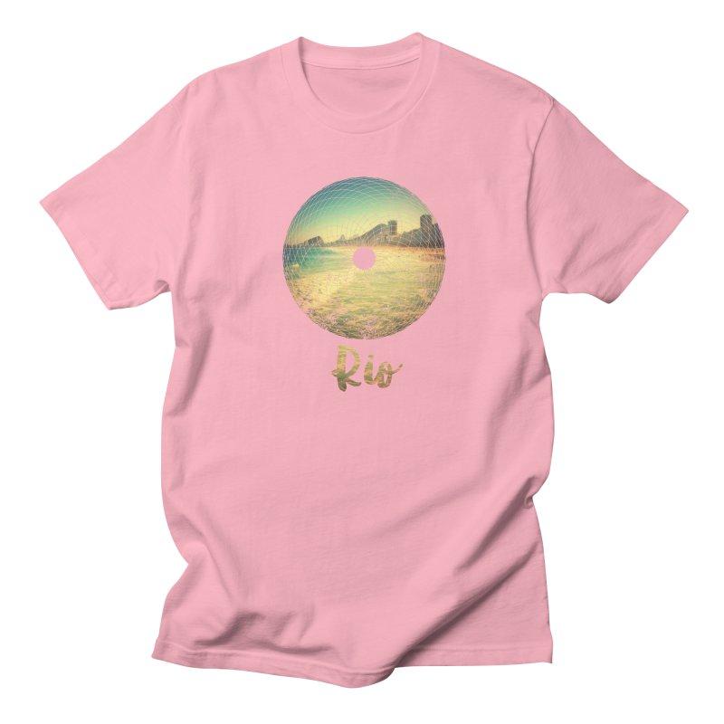 Rio Men's T-shirt by agostinho's Artist Shop