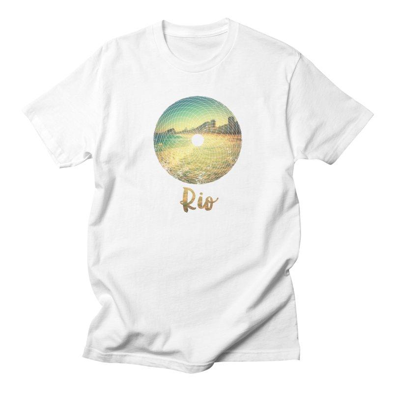 Rio Men's Regular T-Shirt by agostinho's Artist Shop