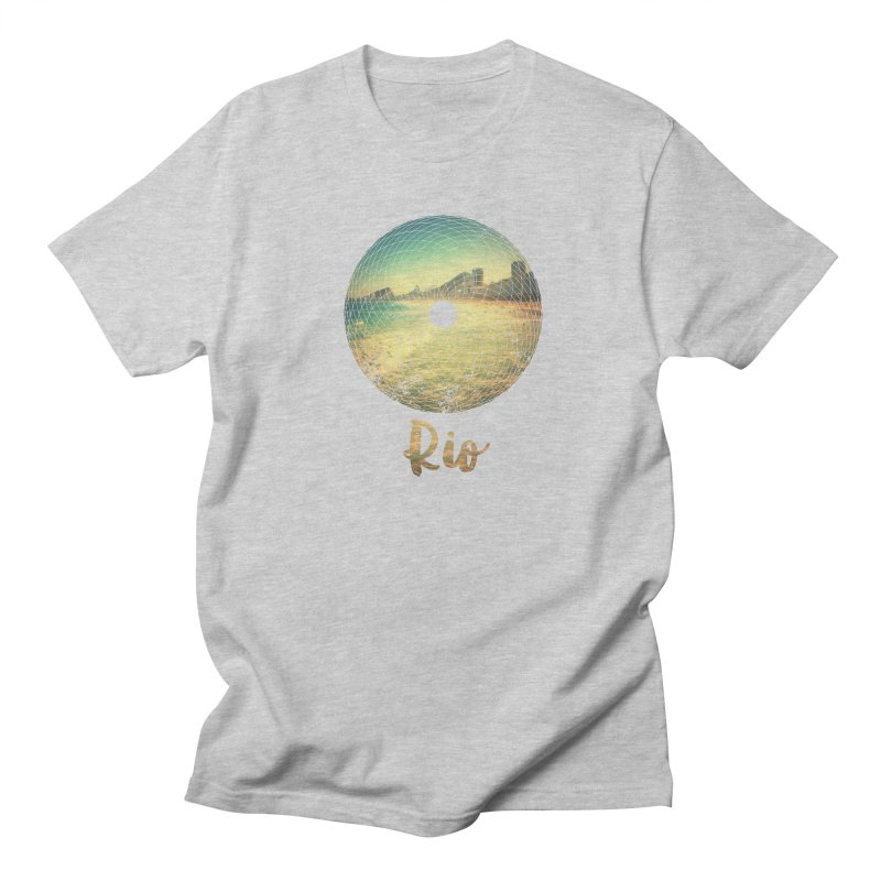Rio Men's Regular T-Shirt by agostinho's Artist Shop