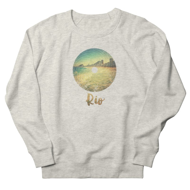 Rio Women's French Terry Sweatshirt by agostinho's Artist Shop