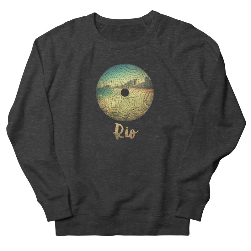 Rio Men's Sweatshirt by agostinho's Artist Shop