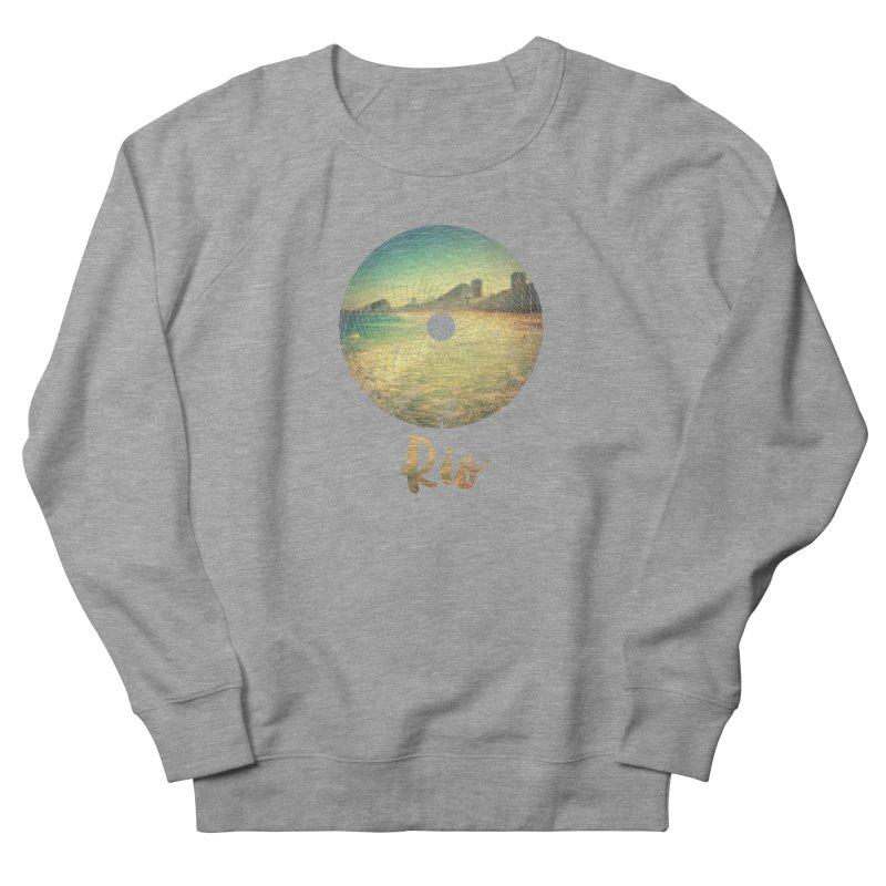 Rio Men's Sweatshirt by agostinho's Artist Shop