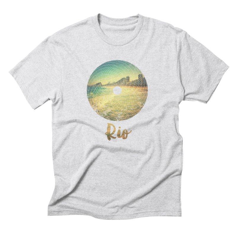 Rio Men's Triblend T-shirt by agostinho's Artist Shop
