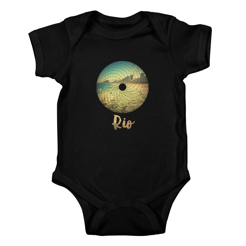Rio Kids Baby Bodysuit by agostinho's Artist Shop