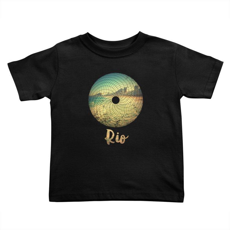 Rio Kids Toddler T-Shirt by agostinho's Artist Shop