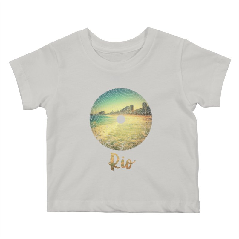 Rio Kids Baby T-Shirt by agostinho's Artist Shop