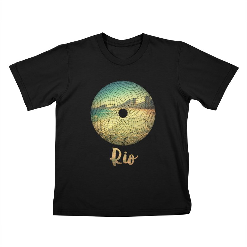 Rio Kids T-Shirt by agostinho's Artist Shop
