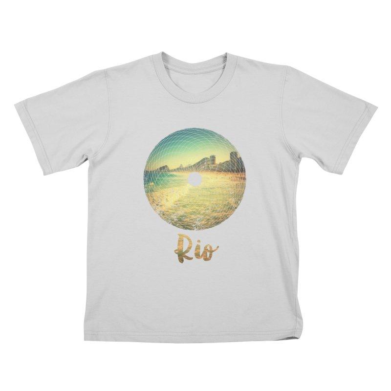 Rio Kids T-Shirt by agostinho's Artist Shop