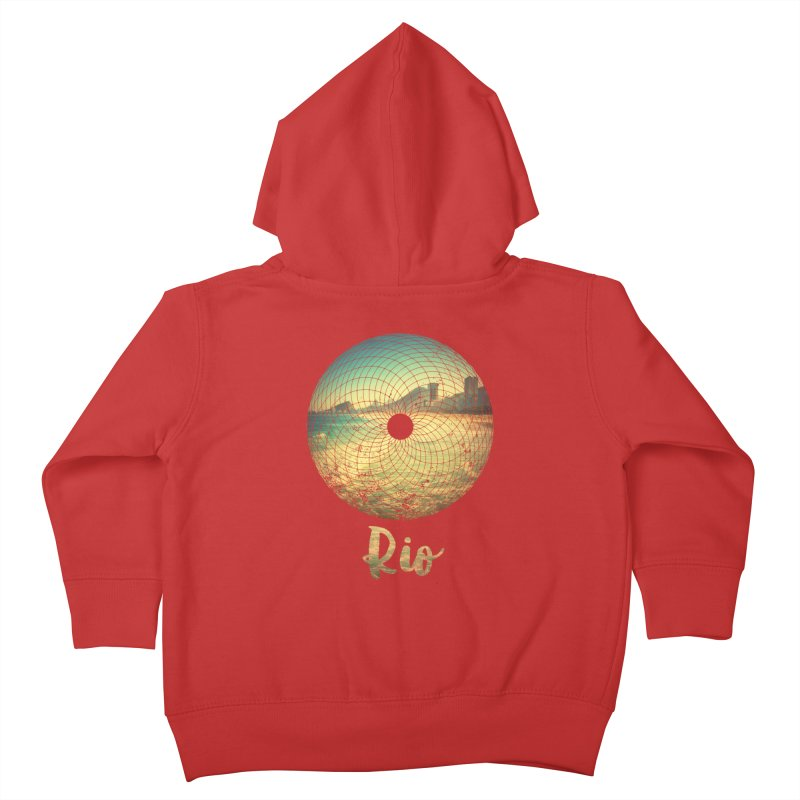 Rio Kids Toddler Zip-Up Hoody by agostinho's Artist Shop