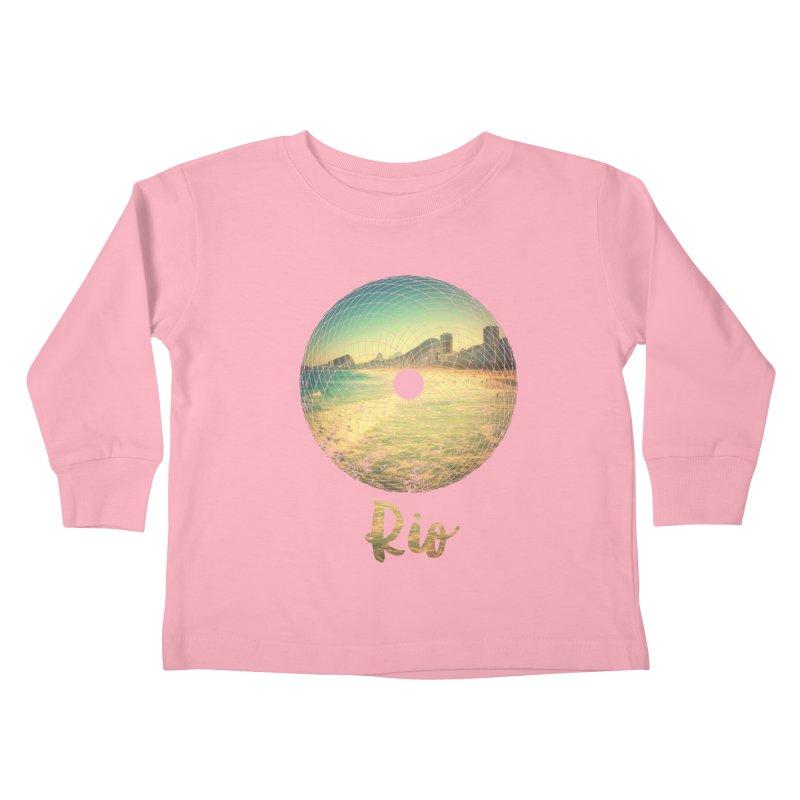 Rio Kids Toddler Longsleeve T-Shirt by agostinho's Artist Shop