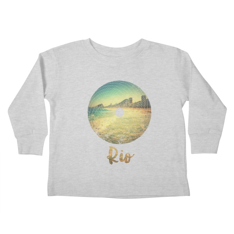 Rio Kids Toddler Longsleeve T-Shirt by agostinho's Artist Shop