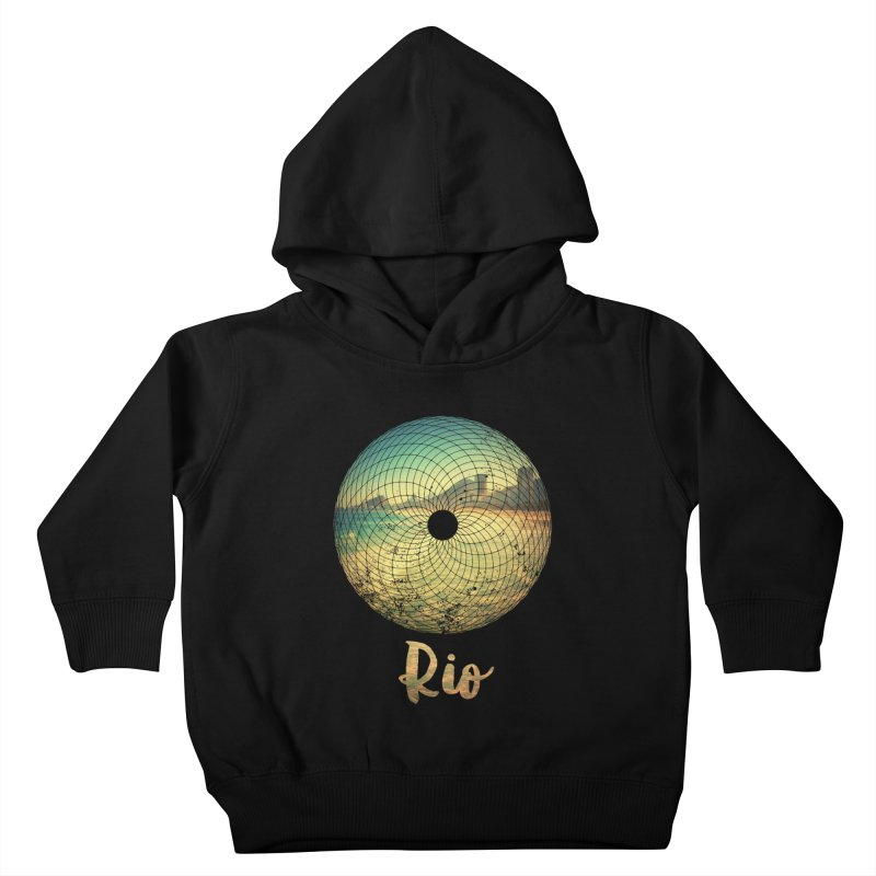 Rio Kids Toddler Pullover Hoody by agostinho's Artist Shop