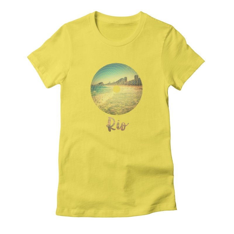 Rio Women's T-Shirt by agostinho's Artist Shop