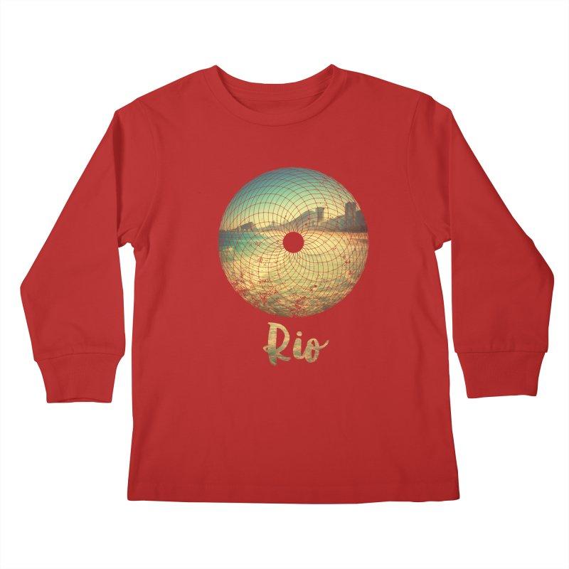 Rio Kids Longsleeve T-Shirt by agostinho's Artist Shop