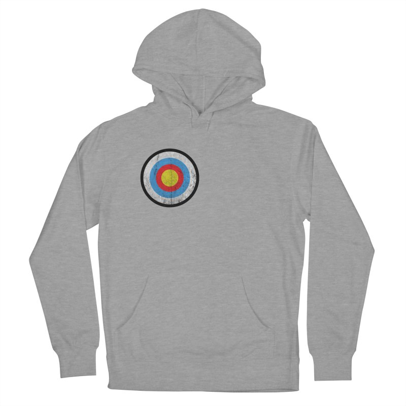 Target Men's French Terry Pullover Hoody by agostinho's Artist Shop