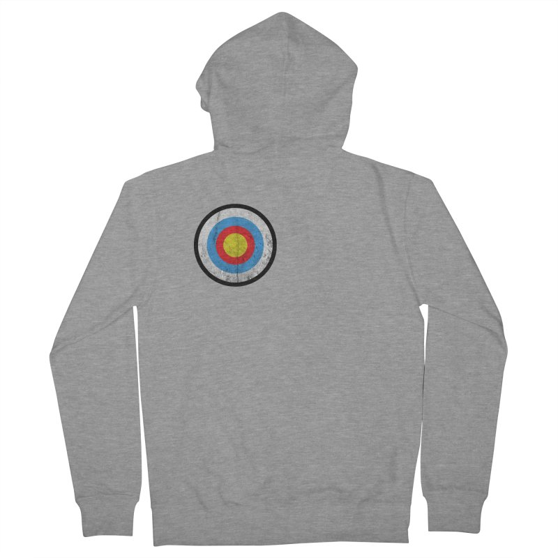 Target Women's French Terry Zip-Up Hoody by agostinho's Artist Shop