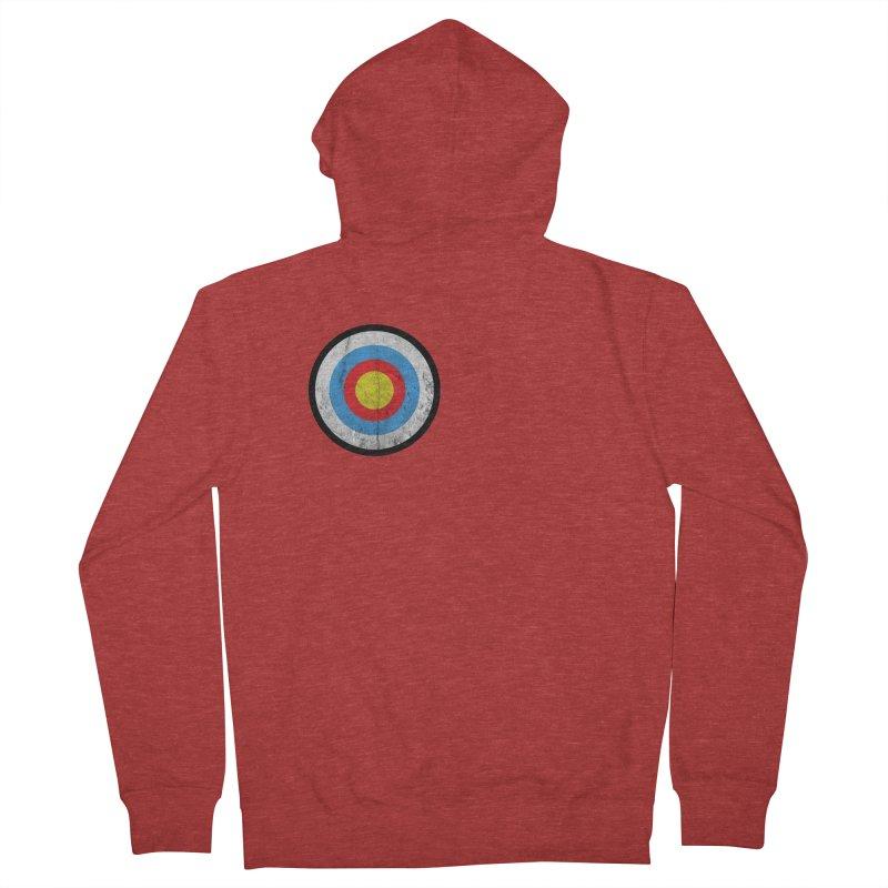 Target Men's Zip-Up Hoody by agostinho's Artist Shop