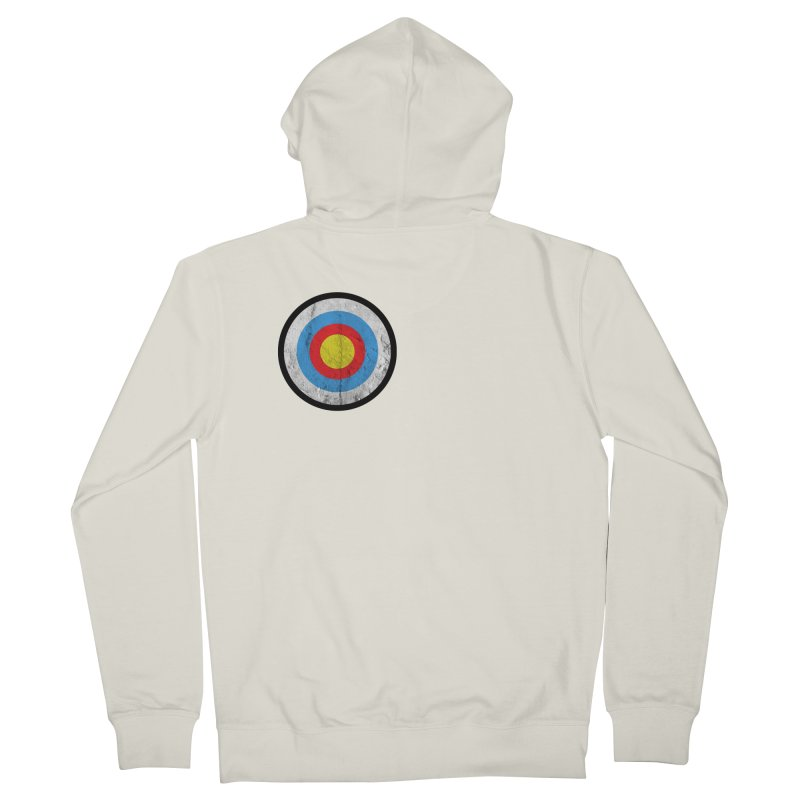 Target Men's Zip-Up Hoody by agostinho's Artist Shop