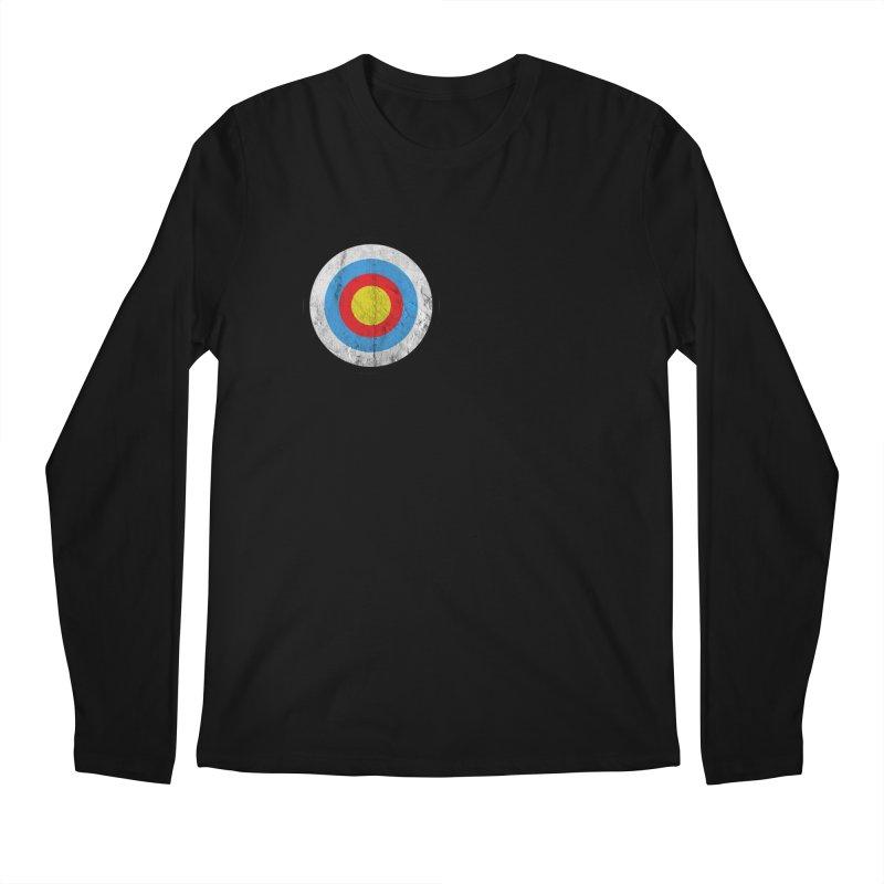 Target Men's Longsleeve T-Shirt by agostinho's Artist Shop