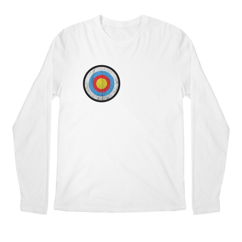 Target Men's Longsleeve T-Shirt by agostinho's Artist Shop