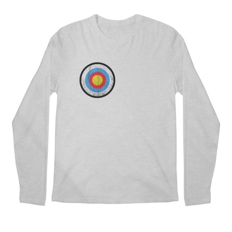 Target Men's Regular Longsleeve T-Shirt by agostinho's Artist Shop