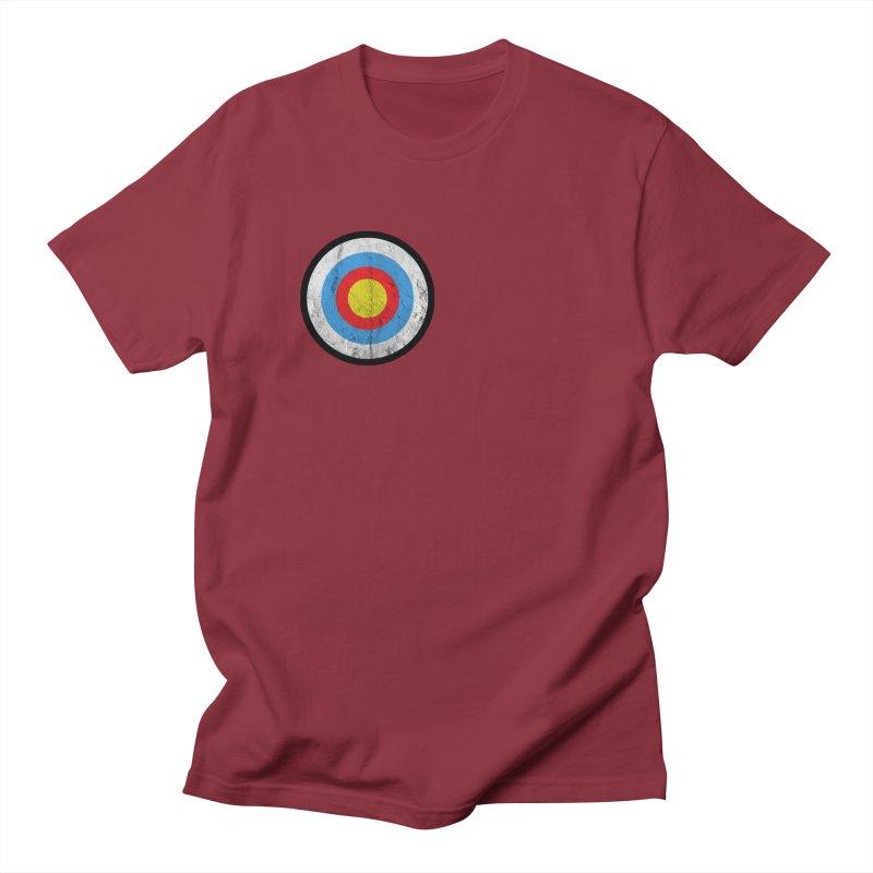 Target Men's T-Shirt by agostinho's Artist Shop