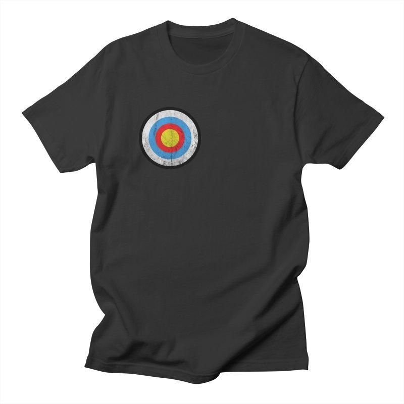 Target Men's Regular T-Shirt by agostinho's Artist Shop