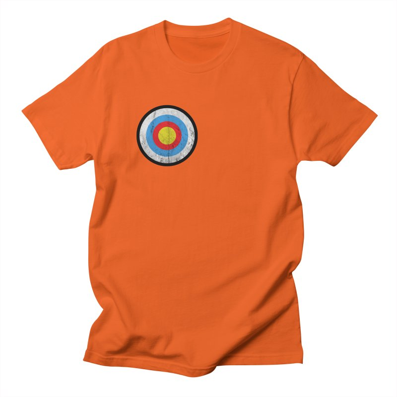 Target Men's Regular T-Shirt by agostinho's Artist Shop