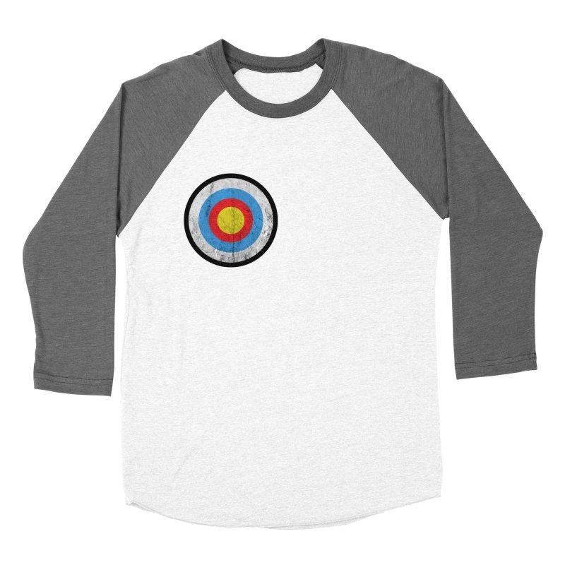 Target Women's Baseball Triblend T-Shirt by agostinho's Artist Shop