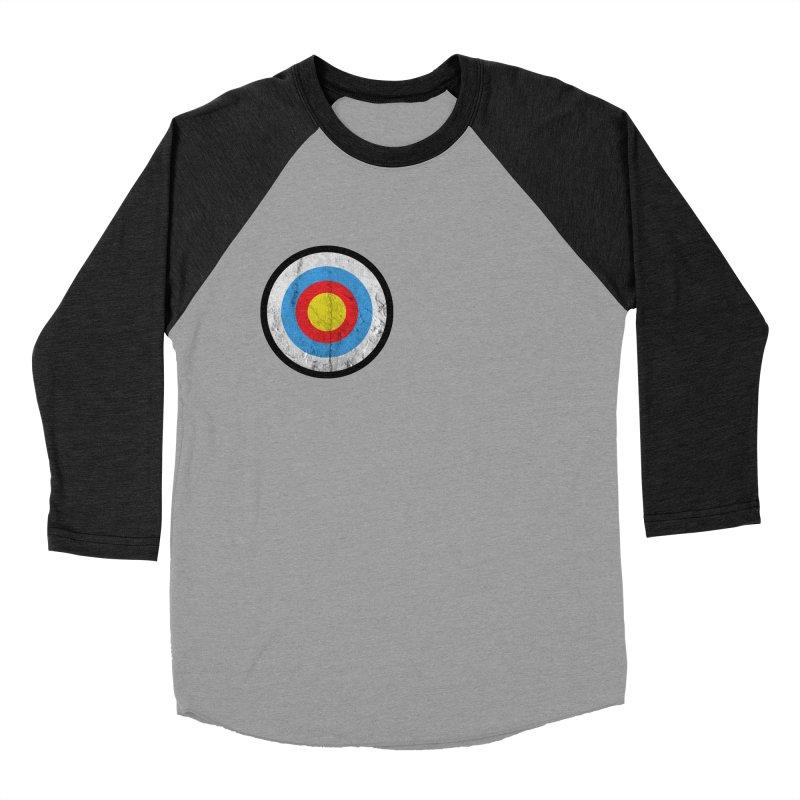 Target Women's Baseball Triblend Longsleeve T-Shirt by agostinho's Artist Shop