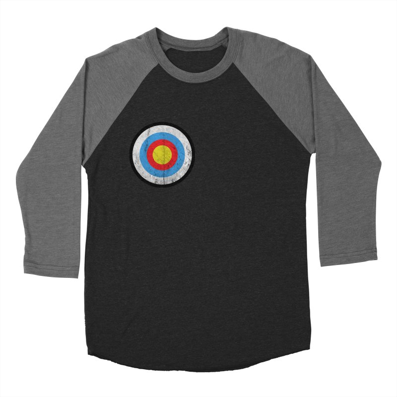 Target Men's Baseball Triblend Longsleeve T-Shirt by agostinho's Artist Shop