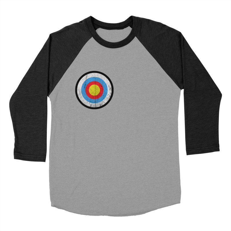 Target Men's Baseball Triblend T-Shirt by agostinho's Artist Shop