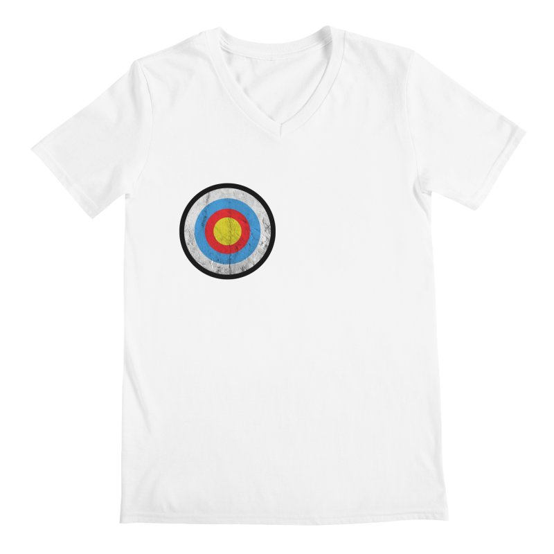 Target Men's V-Neck by agostinho's Artist Shop