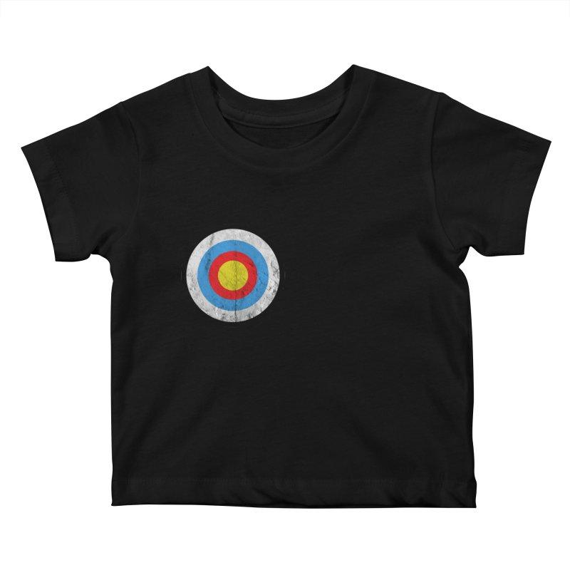 Target Kids Baby T-Shirt by agostinho's Artist Shop