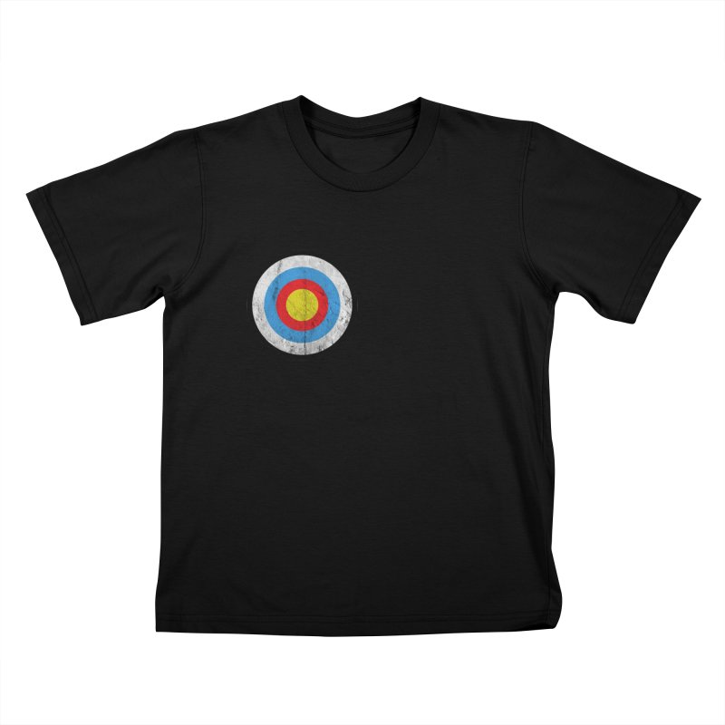 Target Kids T-Shirt by agostinho's Artist Shop