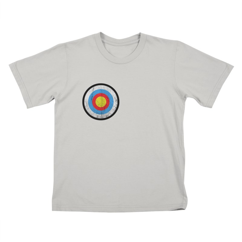Target Kids T-Shirt by agostinho's Artist Shop