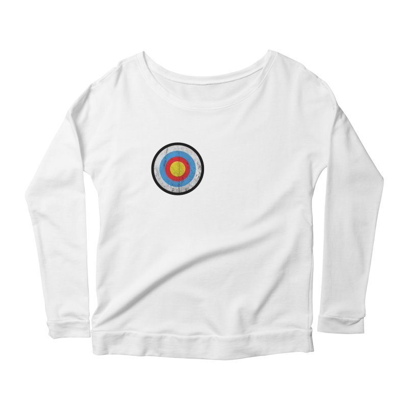 Target Women's Scoop Neck Longsleeve T-Shirt by agostinho's Artist Shop