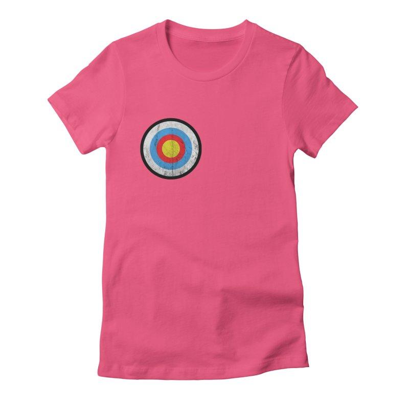 Target Women's T-Shirt by agostinho's Artist Shop