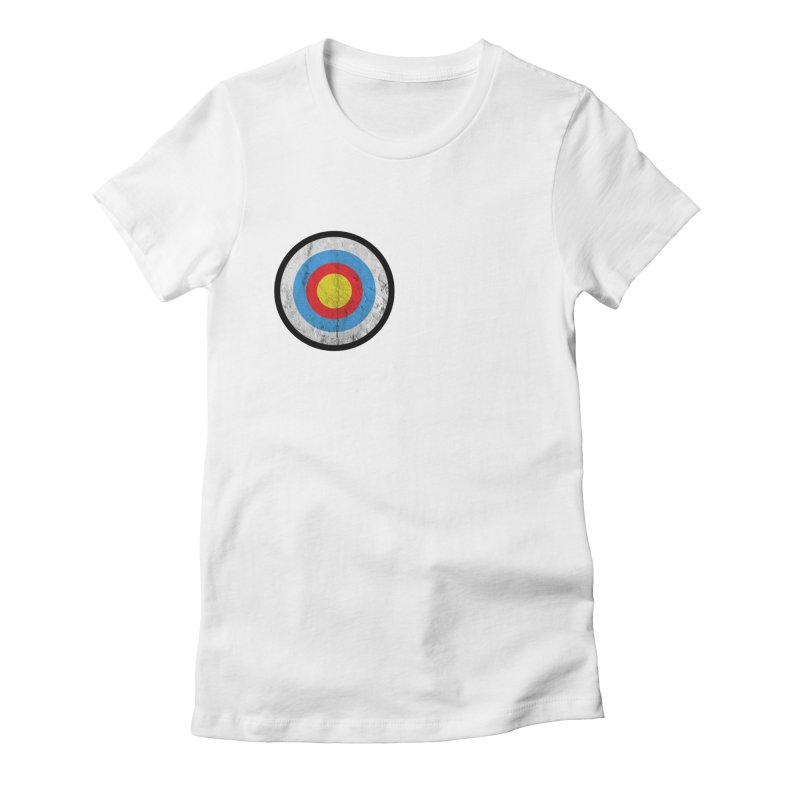 Target Women's Fitted T-Shirt by agostinho's Artist Shop