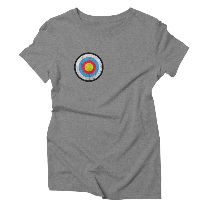 Target Women's Triblend T-Shirt by agostinho's Artist Shop