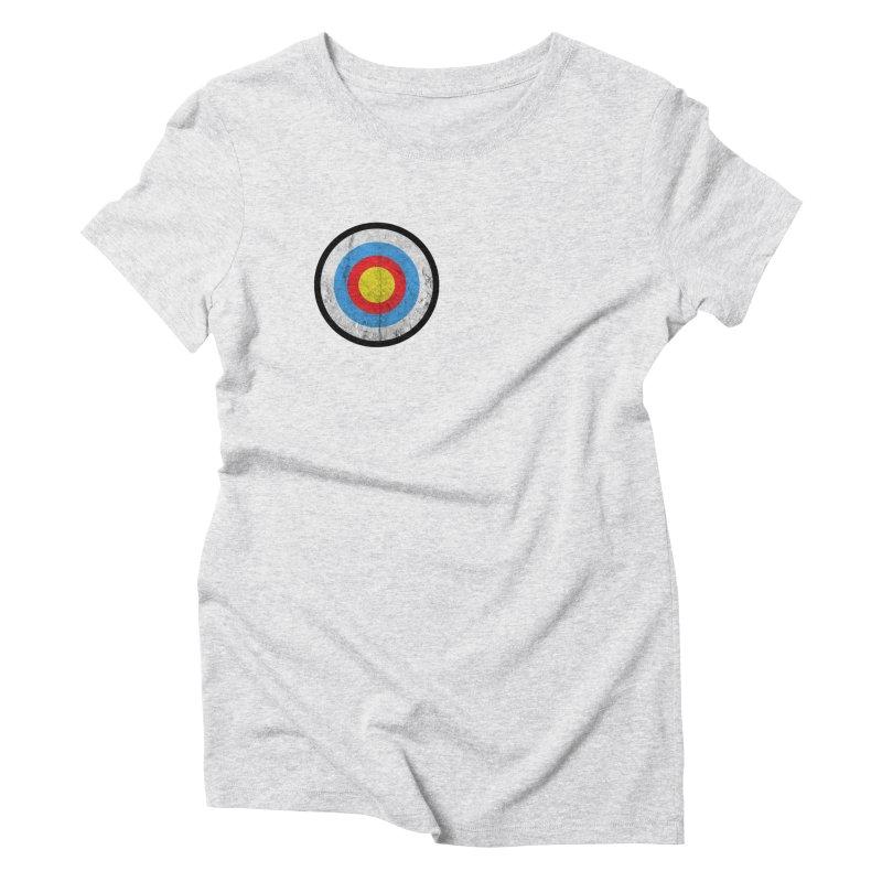 Target Women's Triblend T-Shirt by agostinho's Artist Shop