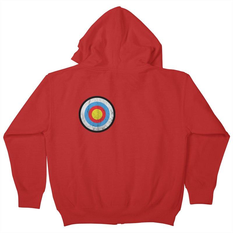 Target Kids Zip-Up Hoody by agostinho's Artist Shop