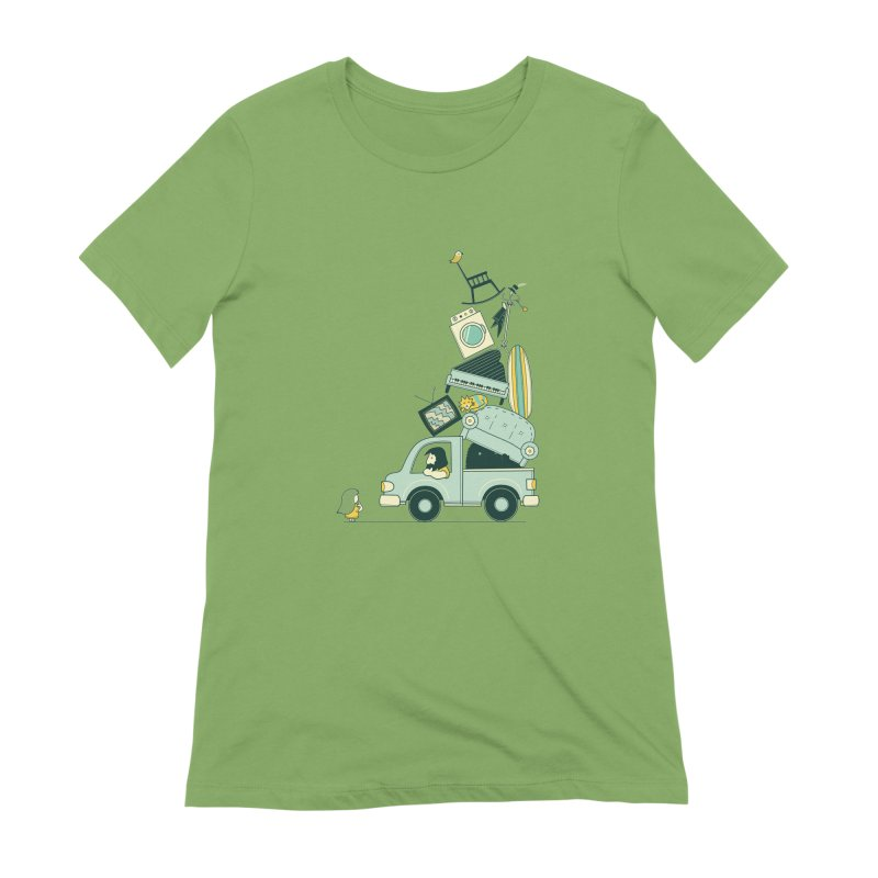 There's still room at the top Women's Extra Soft T-Shirt by agrimony // Aaron Thong