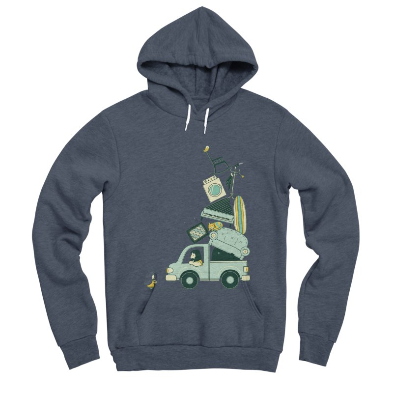 There's still room at the top Women's Sponge Fleece Pullover Hoody by agrimony // Aaron Thong