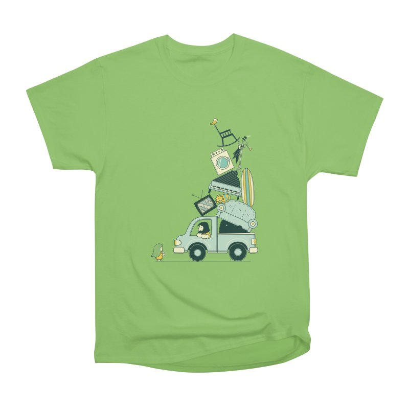 There's still room at the top Women's Heavyweight Unisex T-Shirt by agrimony // Aaron Thong